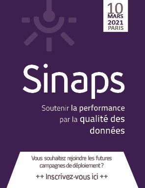 Inscription Conférence Sinaps