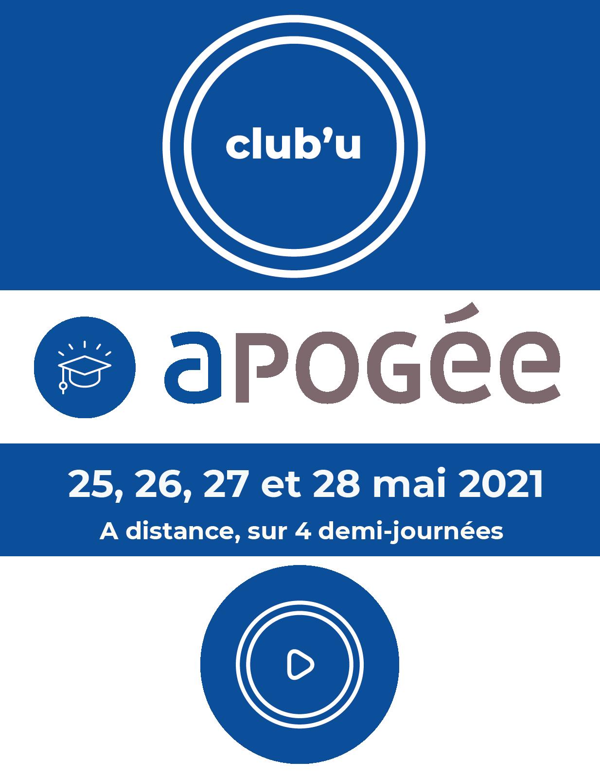 Info Club#39;U Apogée 2021